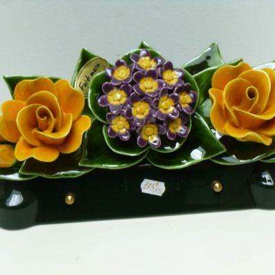 Plaque-céramique-roses-jaunes-400x400